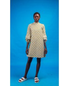 Chinue African Women Print Shirtdress for ladies by Atelier d'Afrique