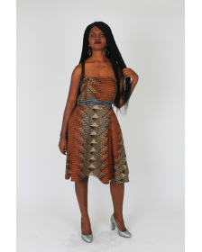 African Inspired Woman Borama Dress By 18Forever