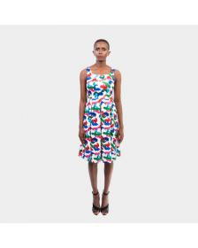 African Inspired Woman Maryam Garba Chi-Chi Dress