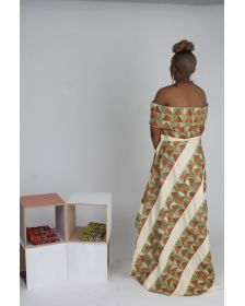 African Inspired Woman Goma Dress By 18Forever