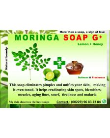 African Moringa Soap Bar