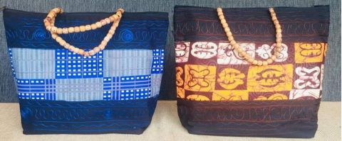 African Inspired Women  Large Handbag By Ma Belle Afrique