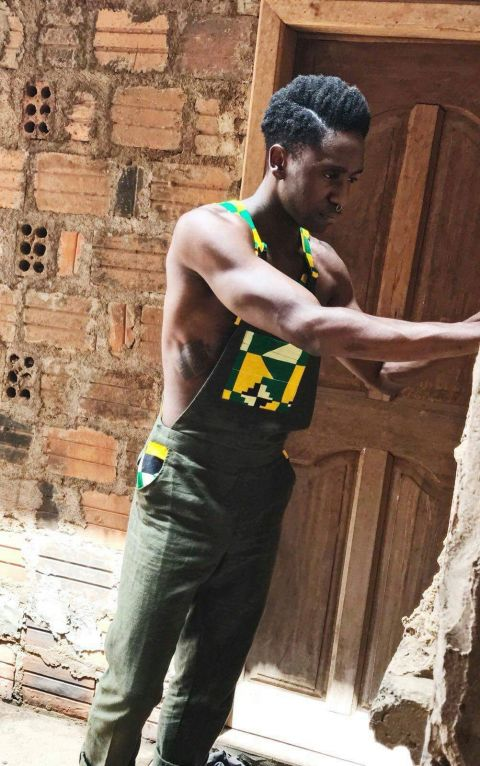 The goolis unisex African inspired Men overalls